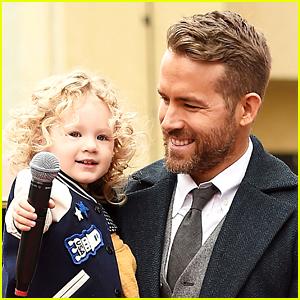 Ryan Reynolds Shares Christmas Convo with Daughter James