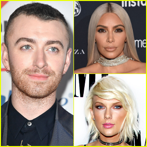 Sam Smith Asked If He's Team Taylor Swift or Team Kim Kardashian