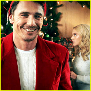 James Franco Stars in 'Saturday Night Live' Hallmark Channel Christmas Parody Cut For Time - Watch!