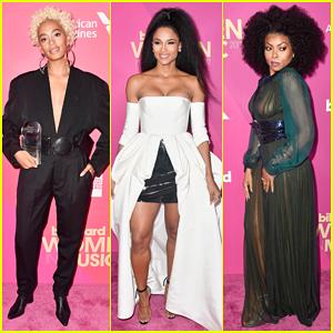 Solange, Ciara & Taraji P. Henson Support Fierce Ladies at Billboard's Women in Music Event!
