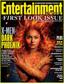 Sophie Turner in 'X-Men: Dark Phoenix' - First Look Photo!