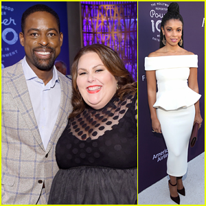 This Is Us' Sterling K. Brown, Chrissy Metz, & Susan Kelechi Watson Hit Up THR's Big Event