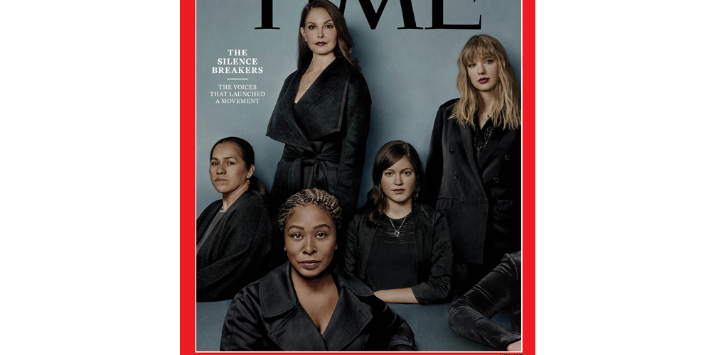 time�s person of the year 2017 are �silence breakers� like