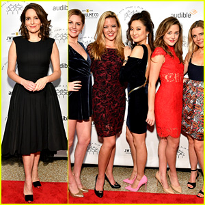 Tina Fey's 'Mean Girls the Musical' Cast Supports Her at New York Stage & Film Gala