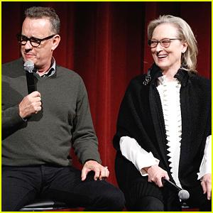 Tom Hanks & Meryl Streep Screen 'The Post' in NYC