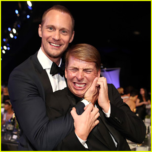 Alexander Skarsgard's Date to SAG Awards 2018 Was His BFF Jack McBrayer!