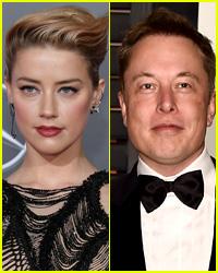 Amber Heard & Elon Musk Hold Hands on Dinner Date