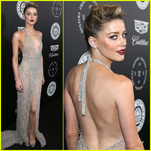 Amber Heard Shines at Art of Elysium Gala
