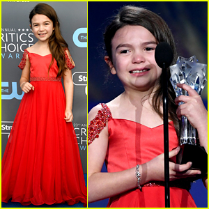 The Florida Project's Brooklynn Prince Wins Best Young Actor/Actress at Critics' Choice Awards 2018!