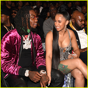 Cardi B Defends Fiance Offset Following Homophobic Lyric Controversy