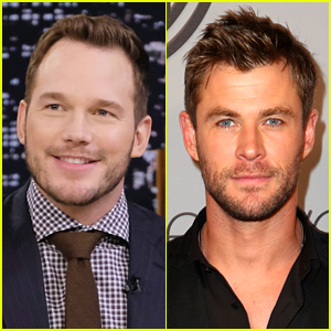 Chris Pratt & Chris Hemsworth Exchange Supportive Tweets & People Are Loving the Bromance