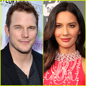 Are Chris Pratt & Olivia Munn Dating? She Clarifies Rumors with Text Message Screen Shot