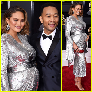 John Legend & Chrissy Teigen Are Picture Perfect at Grammys 2018