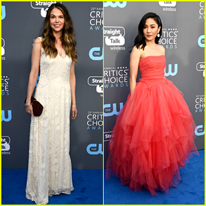 Best Actress Nominees Sutton Foster & Constance Wu Get Glam at Critics' Choice Awards 2018!