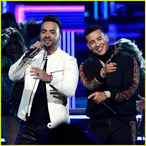 Luis Fonsi & Daddy Yankee Perform 'Despacito' at Grammys 2018 - Watch Now!