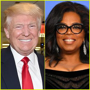 Donald Trump Responds to Oprah Presidency Rumors