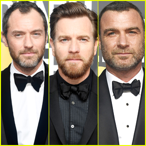 Jude Law, Ewan McGregor, & Liev Schreiber Suit Up for Golden Globes 2018