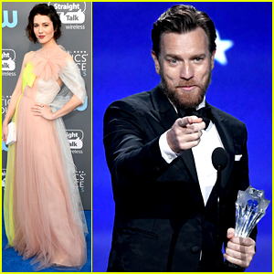 Ewan McGregor Wins at Critics' Choice Awards 2018, Attends with Mary Elizabeth Winstead!