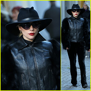 Lady Gaga Looks Fashionable While Walking Through the Streets in Milan!