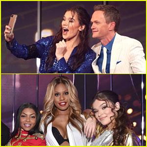 Hailee Steinfeld & Neil Patrick Harris Snap a Selfie Ahead of 'Lip Sync Battle' Performances (Video)