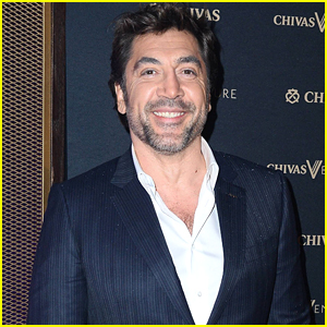 Javier Bardem Suits Up for Chivas Party in Poland