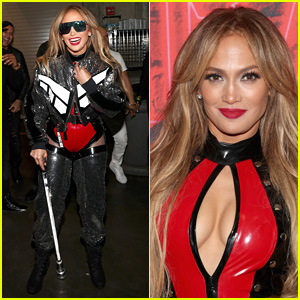 Jennifer Lopez Wears Sexy Skintight Look at Calibash 2018