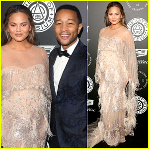 John Legend & Chrissy Teigen Make One Stylish Couple at Art Of Elysium Gala!