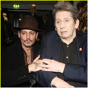 Johnny Depp Joins Bono & More at Shane MacGowan's 60th Birthday Concert in Dublin!