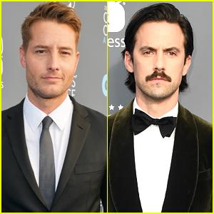 Justin Hartley & Milo Ventimiglia Look So Handsome at Critics' Choice Awards 2018!