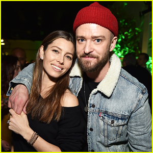 Justin Timberlake Gets Support from Wife Jessica Biel & More at 'Man Of The Woods' NYC Listening Sessions!