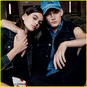 Kaia & Presley Gerber Star in Calvin Klein Jeans Campaign - See Pics!