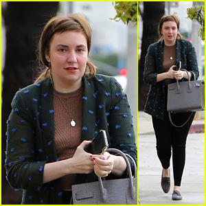 Lena Dunham Steps Out For the First Time Since News of Jack Antonoff Split