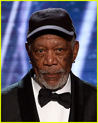 Morgan Freeman Paused His SAG Awards Speech to Speak to This Actress