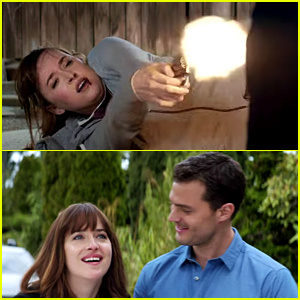 New 'Fifty Shades Freed' Trailer Shows Dakota Johnson Fighting for Her Life (Video)