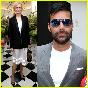Nicole Kidman Joins Ricky Martin at Gold Meets Golden Party
