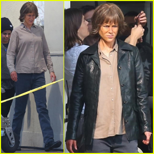 Nicole Kidman Looks Unrecognizable While Filming 'Destroyer'