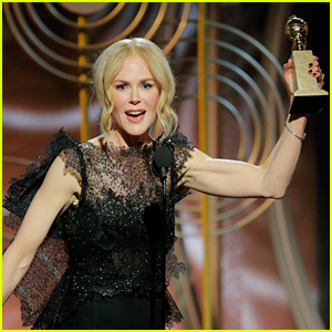Nicole Kidman Gives Powerful Speech at Golden Globes 2018 (Video)