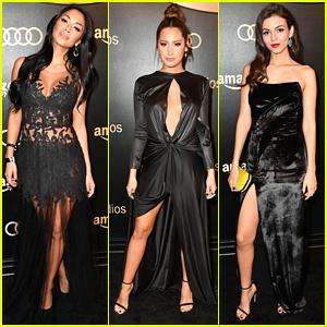 Nicole Scherzinger, Ashley Tisdale, & Victoria Justice Glam Up for Globes Parties!