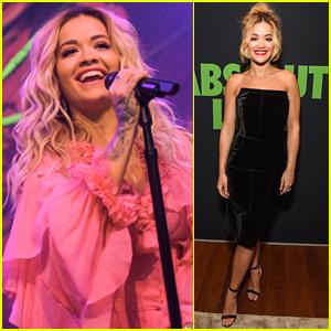 Rita Ora Helps Kick Off Grammys 2018 Weekend!