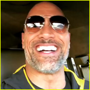 Dwayne 'The Rock' Johnson Teases Photographers While Arriving at the Gym - Watch!