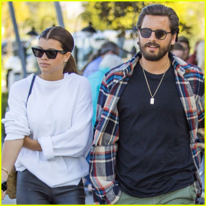 Scott Disick & Sofia Richie Couple Up for Agoura Hills Lunch Date