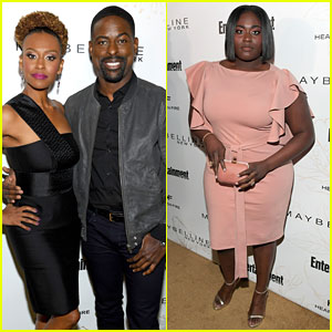 Sterling K. Brown & Danielle Brooks Represent Their Shows at 'EW' Pre-SAG Party