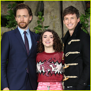 Tom Hiddleston, Maisie Williams, & Eddie Redmayne Premiere 'Early Man' in London!