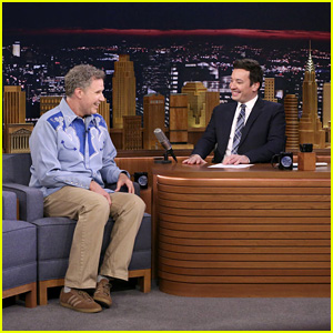 Will Ferrell Channeled Ron Burgundy in an Interview With Roger Federer - Watch Now!