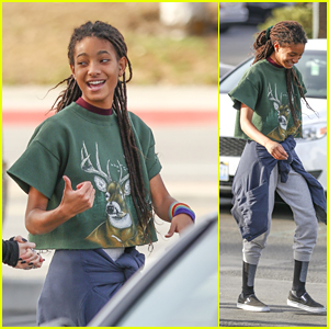 Willow Smith Looks Stylish While Hanging With Friends in Calabasas!
