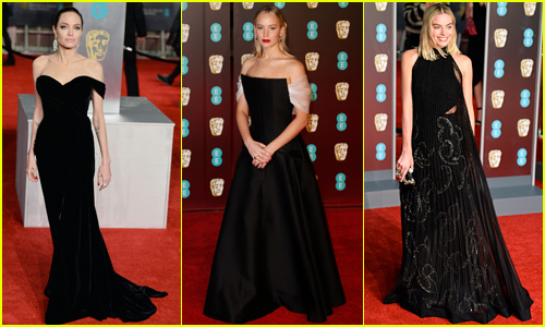 Celebs Are Wearing Black at BAFTAs 2018 for Time's Up Movement