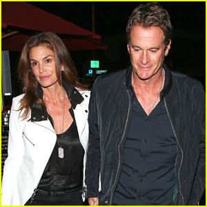 Cindy Crawford & Rande Gerber Step Out for Date Night