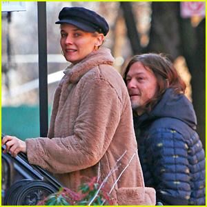 Diane Kruger & Norman Reedus Go Apartment Hunting Together