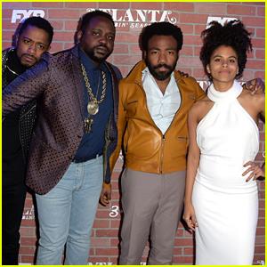 Donald Glover Joins 'Atlanta' Co-Stars for Season 2 Premiere!