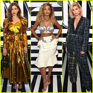 Dua Lipa Celebrates Brits Awards 2018 Wins at After Party with Rita Ora, Hailey Baldwin & Idris Elba!